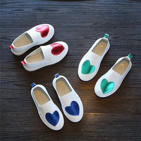 Heart Design Slip-Ons