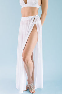 MAXI SKIRT BRIDAL COVER-UP