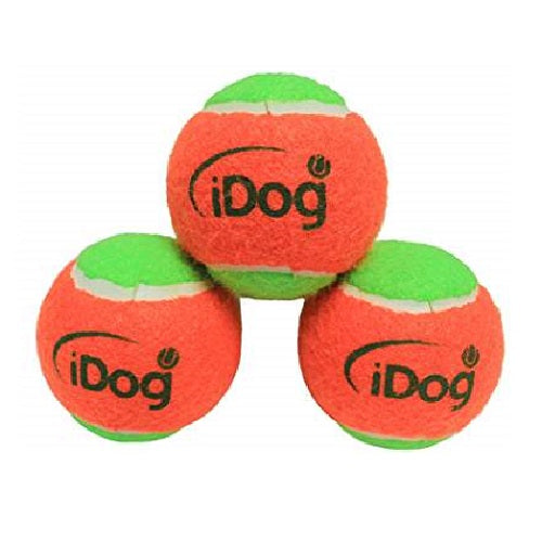 iDogmate 2.5 inches Pet Tennis Ball for iDogmate Extreme Automatic Pet Dog Ball Thrower(3PCS)
