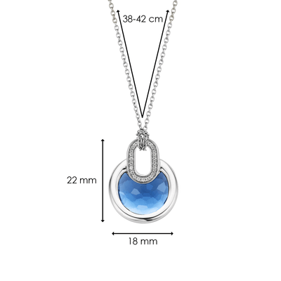 TI SENTO - Milano Necklace 3887DB