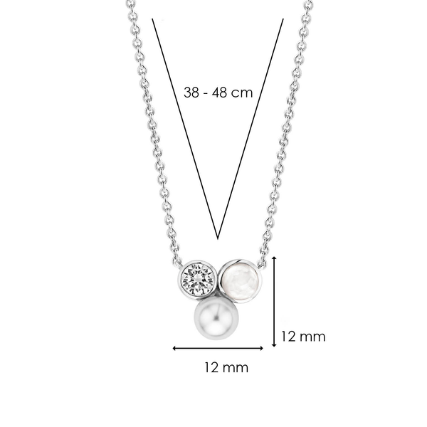 TI SENTO - Milano Necklace 3909PW