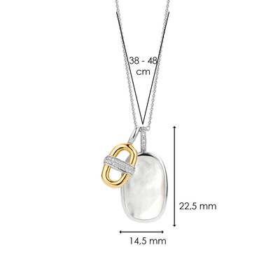 TI SENTO - Milano Necklace 3914MY