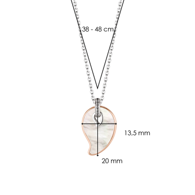 TI SENTO - Milano Necklace 3917MR