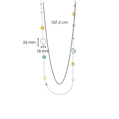 TI SENTO - Milano Necklace 3922TQ