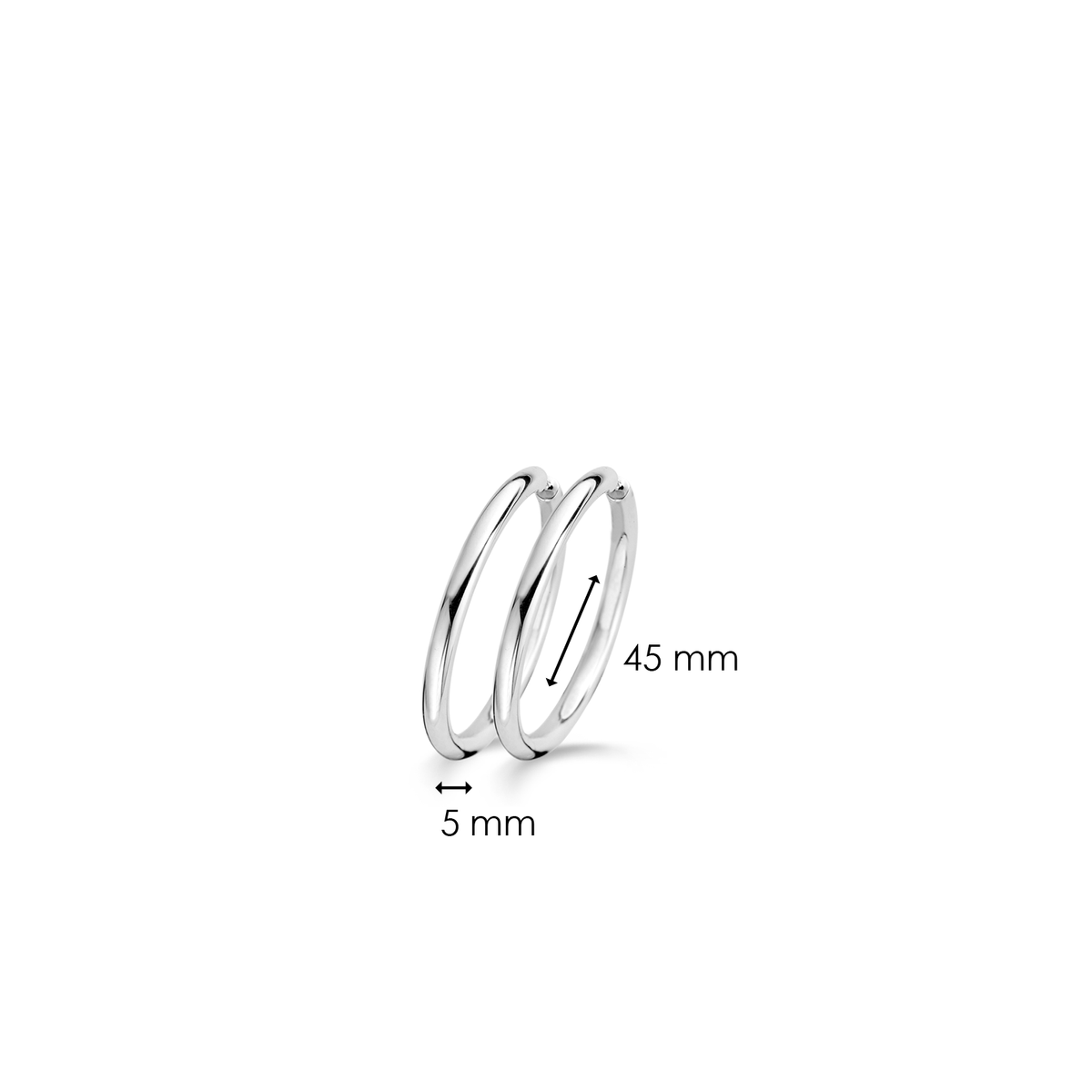 TI SENTO - Milano Earrings 7440SI