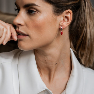 TI SENTO - Milano Earrings 7813CR in use