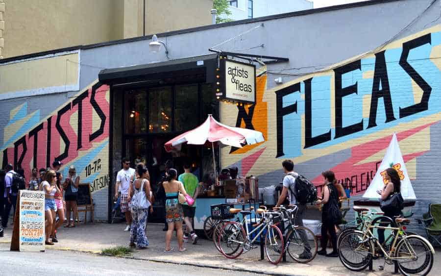EVENT: Artists & Fleas Williamsburg | AUGUST 1 - 2