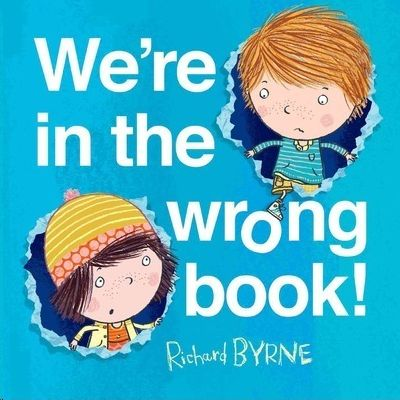 WE'RE IN THE WRONG BOOK!, BYRNE, RICHARD - Hombre de la Mancha
