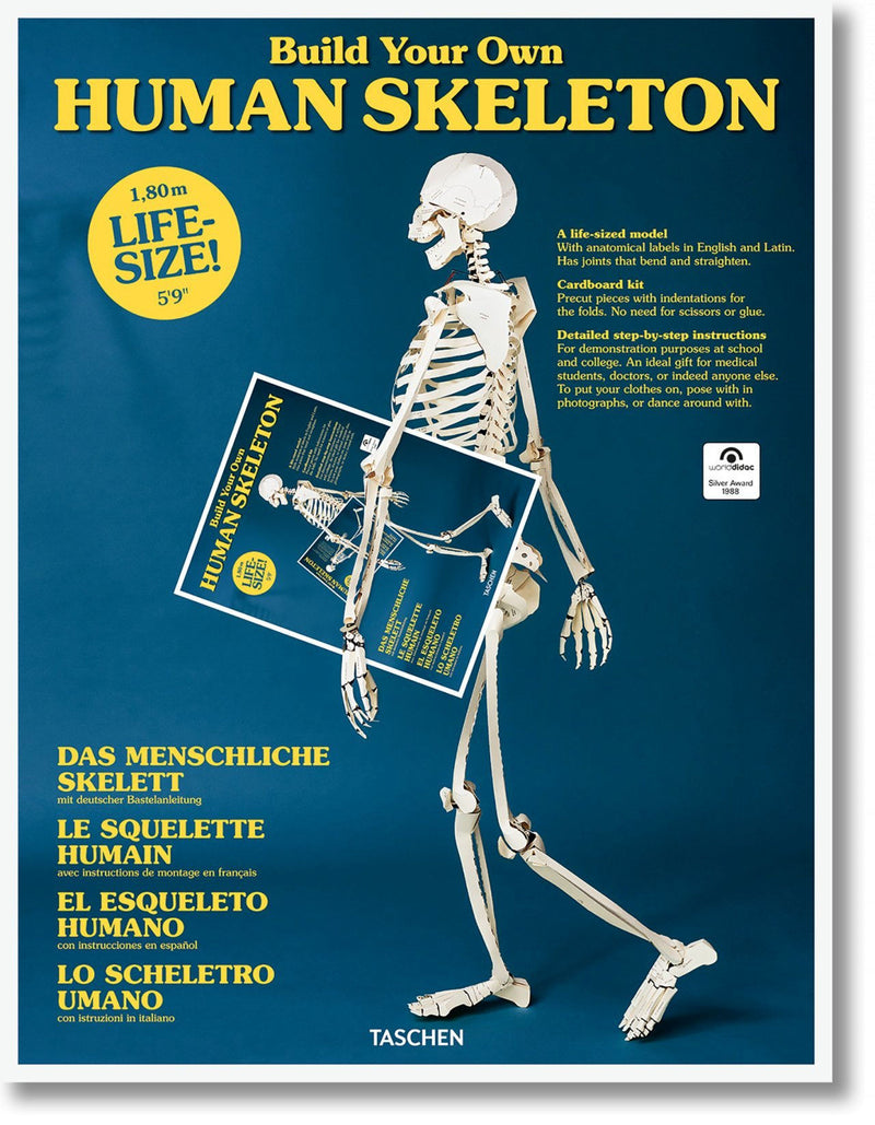 BUILD YOUR OWN HUMAN SKELETON – LIFE SIZE!, AUTORES VARIOS - Hombre de la Mancha
