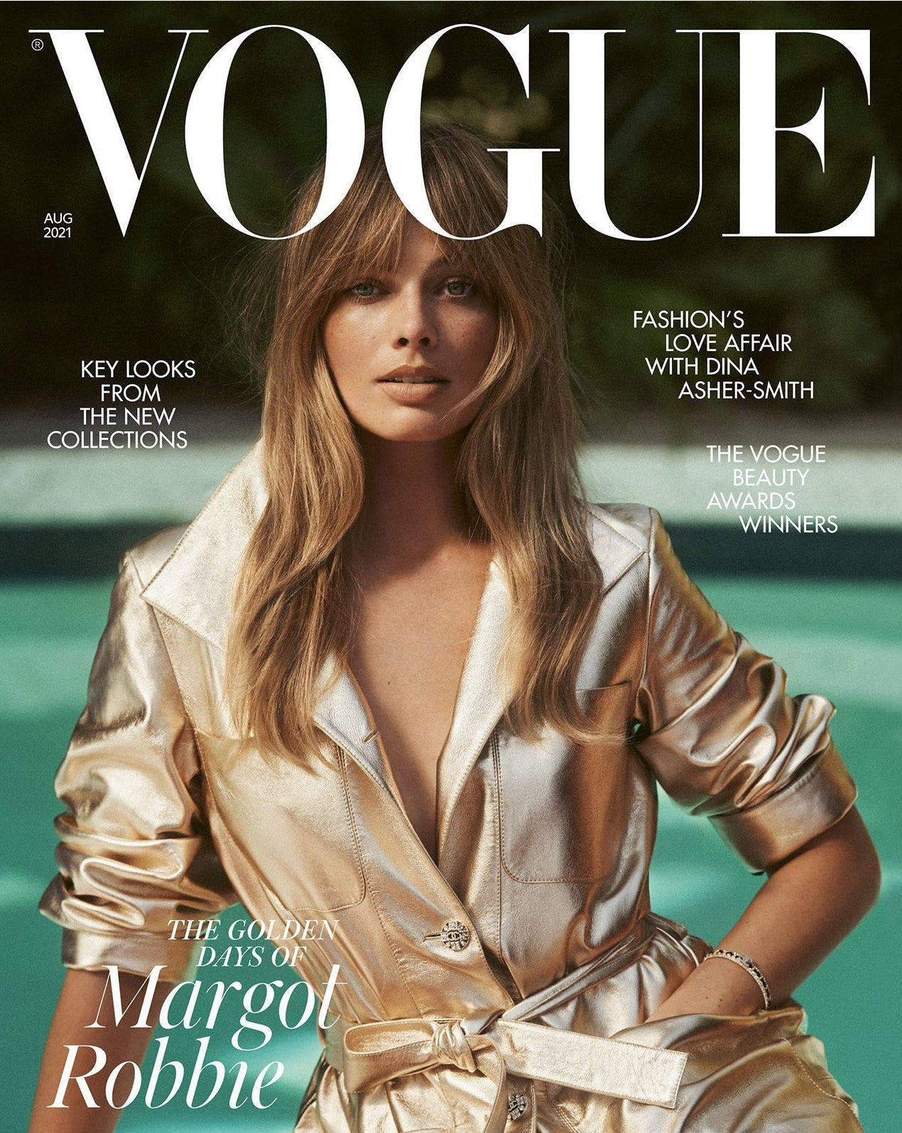 Vogue Magazine August 2021 Front Cover