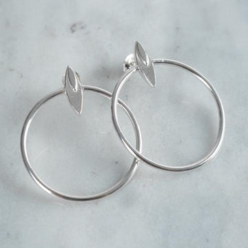 Halo Hoops - Amy Jennifer Jewellery