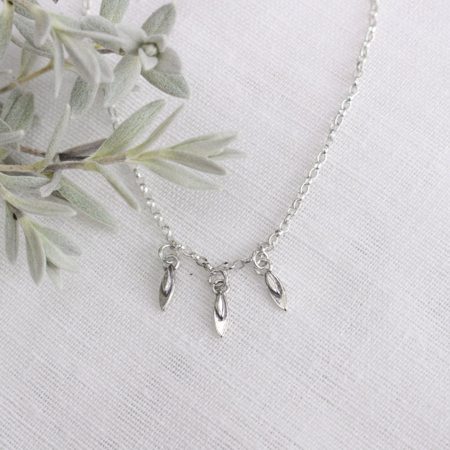 Trio Petal Necklace - Amy Jennifer Jewellery