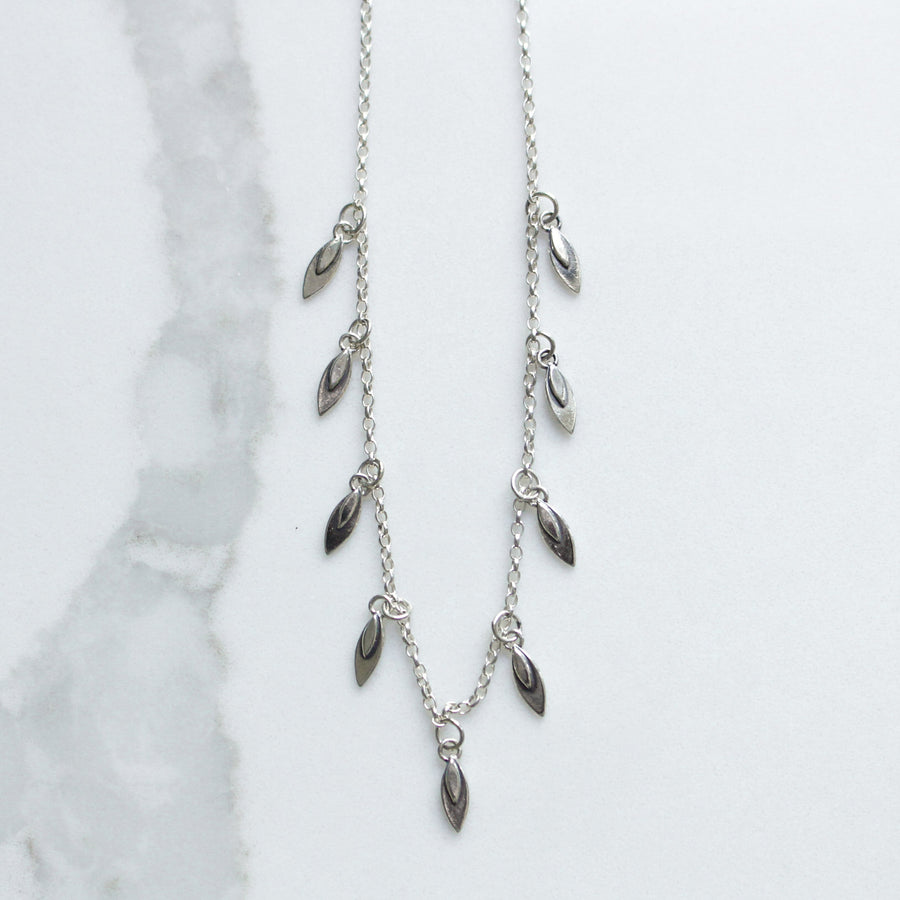 Little Leaf Layer Necklace - Amy Jennifer Jewellery