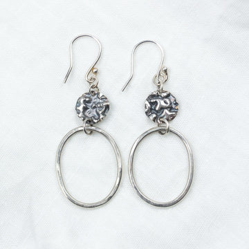 Silver Moon Earrings - Amy Jennifer Jewellery