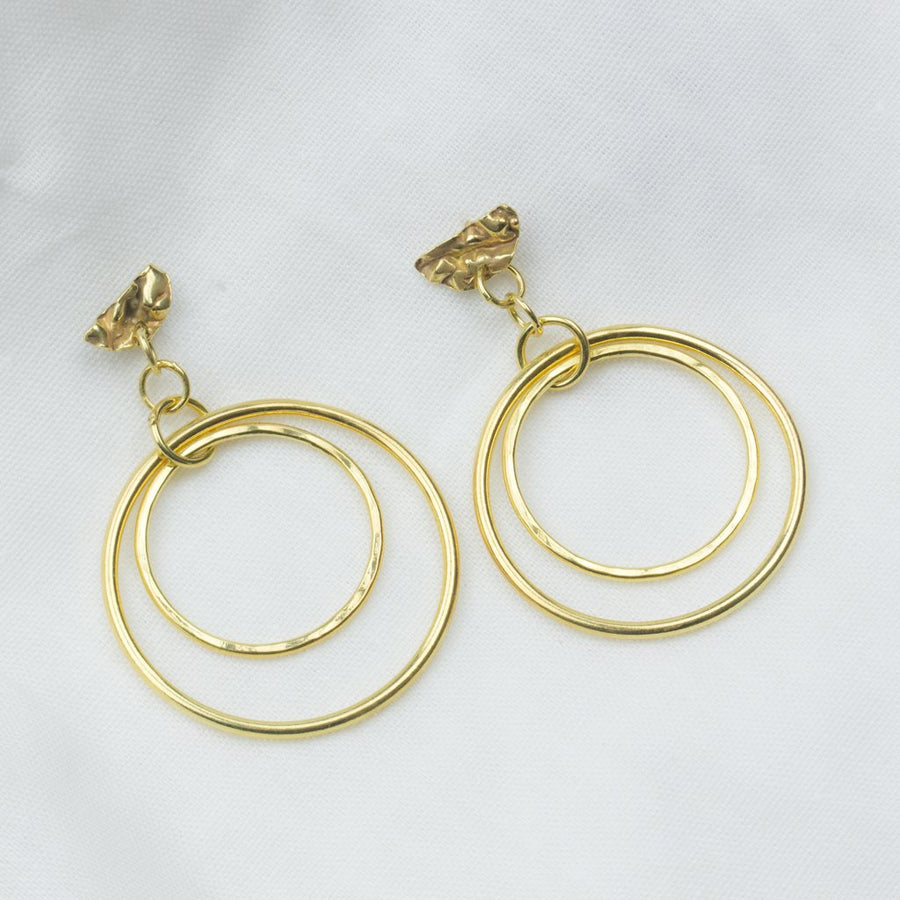 Midas Hoops - Amy Jennifer Jewellery