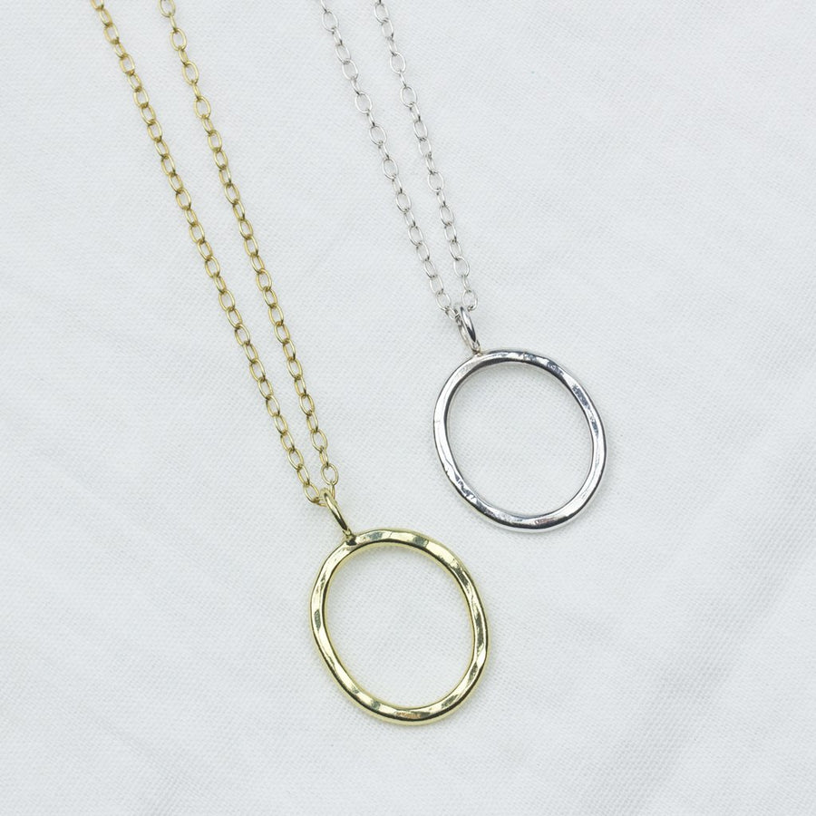 Essential Silver Circle - Amy Jennifer Jewellery
