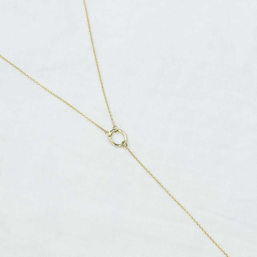 Essentially Fine Lariat- in Gold - Amy Jennifer Jewellery