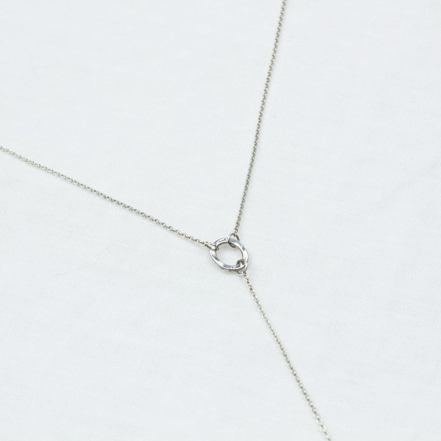 Essentially Fine Lariat- In Silver - Amy Jennifer Jewellery