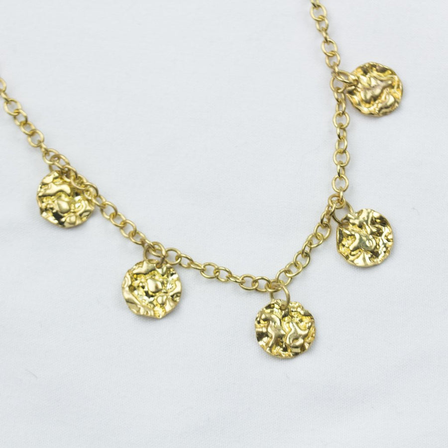 Gold Many Moons Necklace - Amy Jennifer Jewellery
