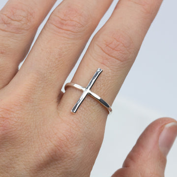 Essential Bar Band- In Silver - Amy Jennifer Jewellery