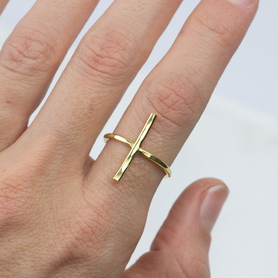 Essential Bar Band- In Gold - Amy Jennifer Jewellery