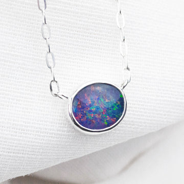 Black Opal Reef Choker
