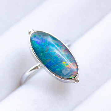 Coral Reef Opal Ring
