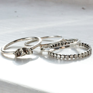 4 Stacking Rings - All Sizes