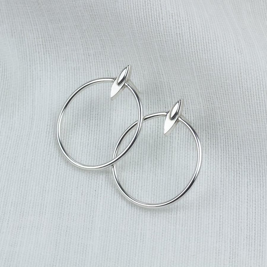 Petal Halo Hoops - Amy Jennifer Jewellery