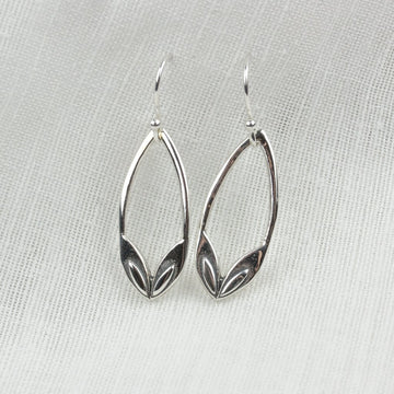 Petal Arch Earrings - Amy Jennifer Jewellery