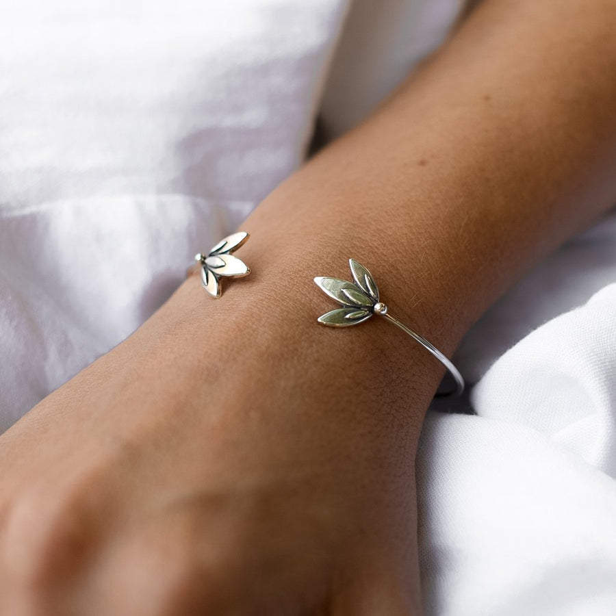 Bloom Cuff Bangle - Amy Jennifer Jewellery