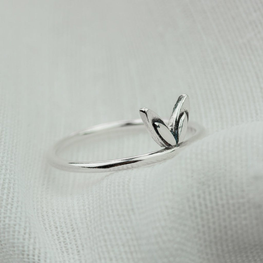 Little Petal Stacking Ring - all sizes - Amy Jennifer Jewellery