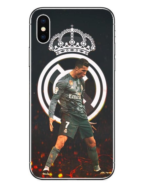 on sale 543f6 3d0dd Real Cristiano Ronaldo CR7 iPhone Cover Case