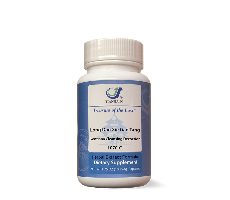 Long Dan Xie Gan Tang - 龙胆泻肝汤 - Gentiana Cleansing Decoction (Capsules)