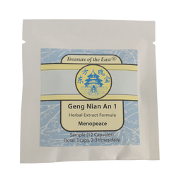 Sample of Geng Nian An 1 (Capsules)