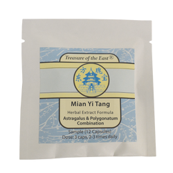 Sample of Mian Yi Tang (Capsules)