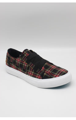 Blowfish Marley Sneaker - Black Scottish Plaid