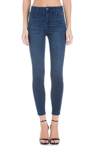 Cello Mid Rise Ankle Skinny Jeans