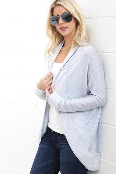 Soft Open Front Cardigan