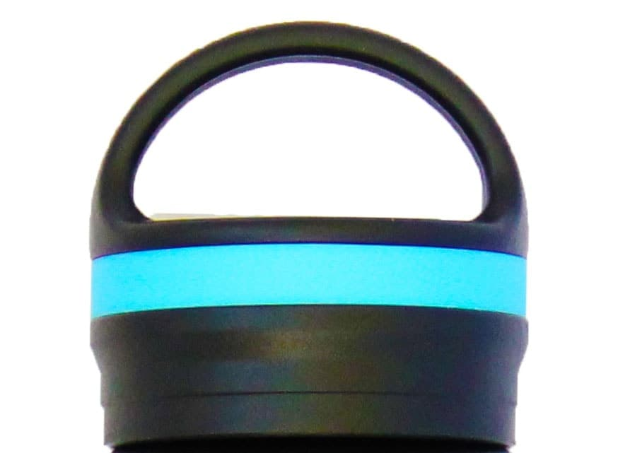 The Coldest Water Strong Insulated Black Loop Lid