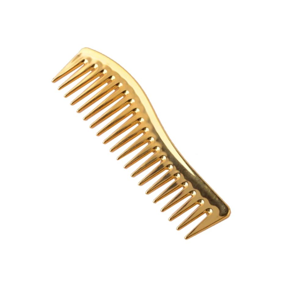 Gold Detangling Wide Tooth Comb