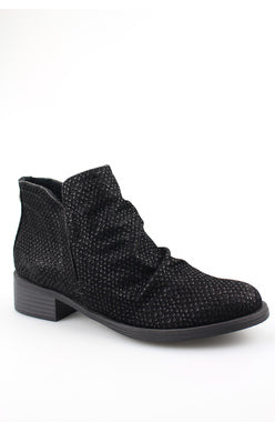 Blowfish Venom Bootie - Black Exotic Raven