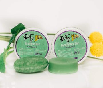 Dirty Bee Shampoo and Conditioner Bar Set