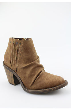 Blowfish Liva Booties - Brown Prospector