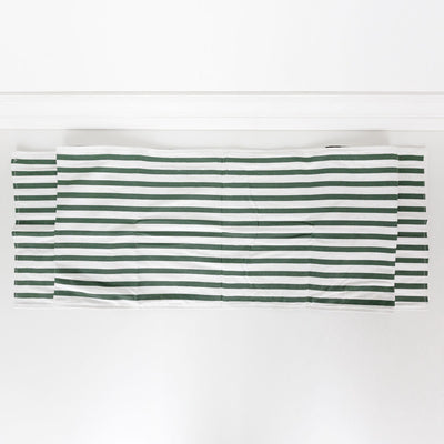 Checked and Striped Double Sided Table Runner