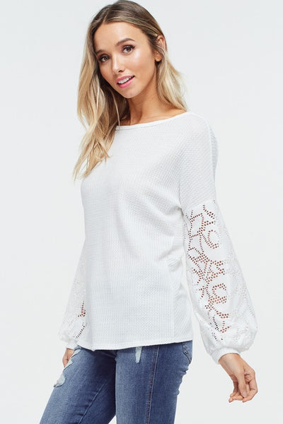 Open Back Twist Solid Knit Top