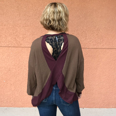Open Back Thermal Top
