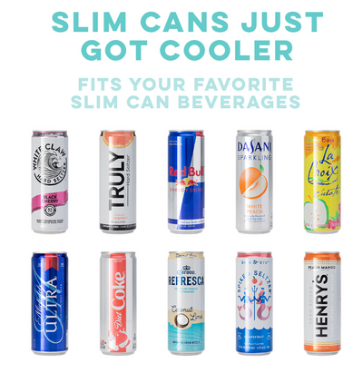 Swig Life™ with SCOUT™ Collab 12oz Skinny Can Cooler