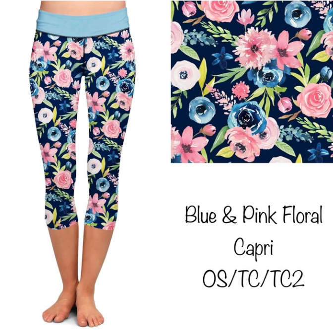 Printed Capri Leggings