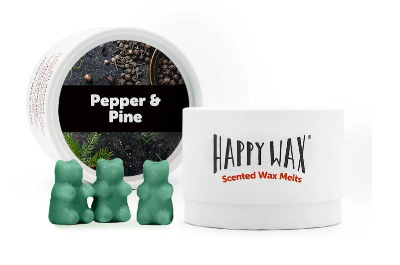 Happy Wax Classic Tin - Cozy Cabin Collection